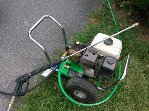 Pressure Washer with small engine