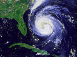Hurricane Season in Florida - Hurricane Fran - September 1996