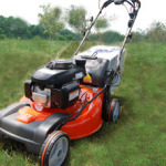 Husqvarna rear discharge lawn mower