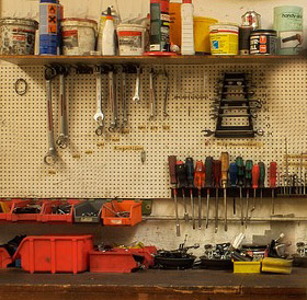 workshop bench